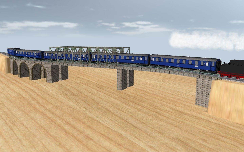 Brucken Und Bahnsteigbau In Version 4 Modelle 3d Modellbahn Studio